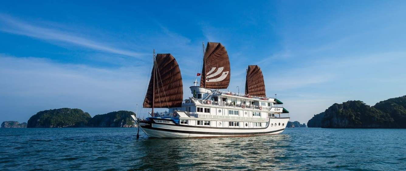 Discovery Ha long bay 3 days 2 nights with A Class Legend cruise