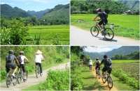 Hanoi - mai chau on motorbike 2 days - 1 night