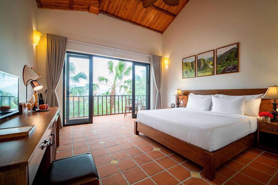 Bai Dinh Garden Resort Double room with view